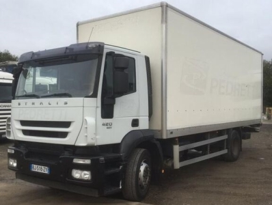 Camion fourgon IVECO Stralis 420